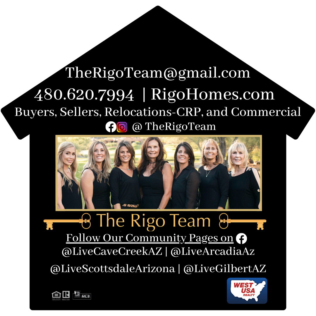 Arizona Realtors, The Rigo Team, Arizona Homes